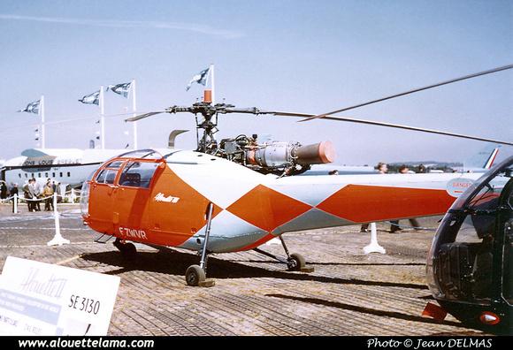 Pierre GILLARD: Prototypes : SE-3160 Alouette III &emdash; 001969