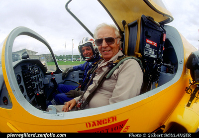 Pierre GILLARD: Belgium - Promavia F.1300 Jet Squalus &emdash; H1039
