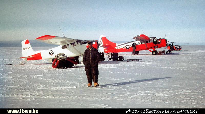 Pierre GILLARD: 1965-1966 - Expédition Antarctique &emdash; H0755