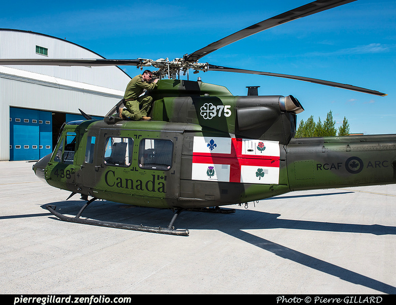 Pierre GILLARD: Canada - 438 Squadron - Escadron 438 &emdash; 2017-611032