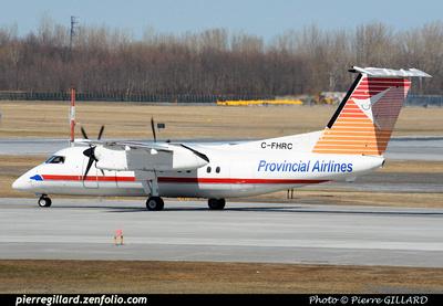 Pierre GILLARD: Provincial Airlines &emdash; 2015-407032