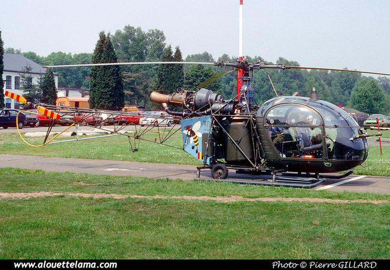 Pierre GILLARD: Aéronefs : Alouette II Astazou &emdash; A42-006438