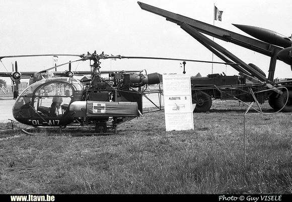 Pierre GILLARD: Aéronefs : Alouette II Artouste &emdash; A17-030184