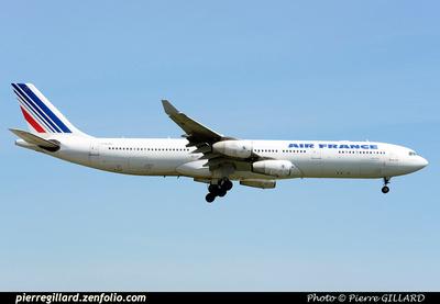 Pierre GILLARD: Air France &emdash; 2015-410453