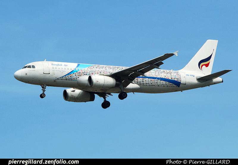 Pierre GILLARD: Bangkok Airways - บางกอกแอร์เวย์ &emdash; 2016-517189