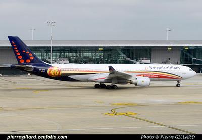 Pierre GILLARD: Brussels Airlines &emdash; OO-SFO-2014-405064