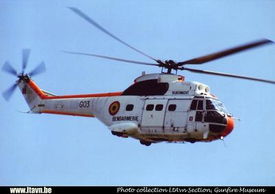 Pierre GILLARD: Aéronefs : Aérospatiale SA-330 Puma &emdash; G03-010398