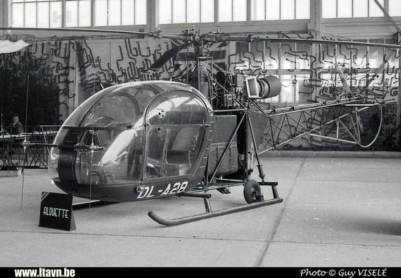 Pierre GILLARD: Aéronefs : Alouette II Artouste &emdash; A28-030219