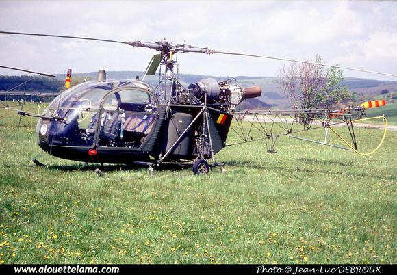 Pierre GILLARD: Aéronefs : Alouette II Astazou &emdash; A45-006452