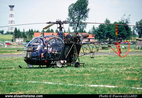 Pierre GILLARD: Aéronefs : Alouette II Astazou &emdash; A43-006441