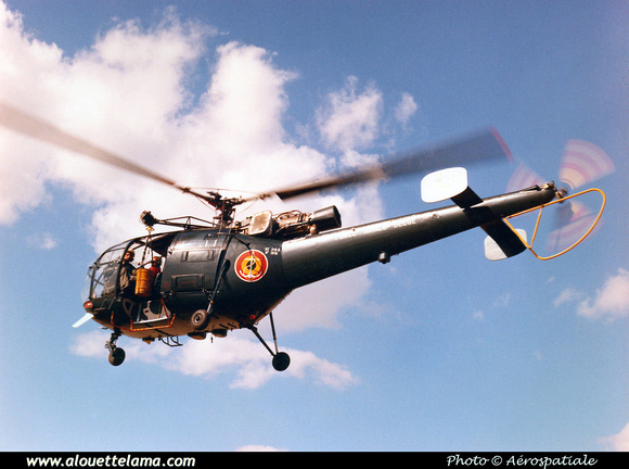 Pierre GILLARD: Alouette III &emdash; 008534
