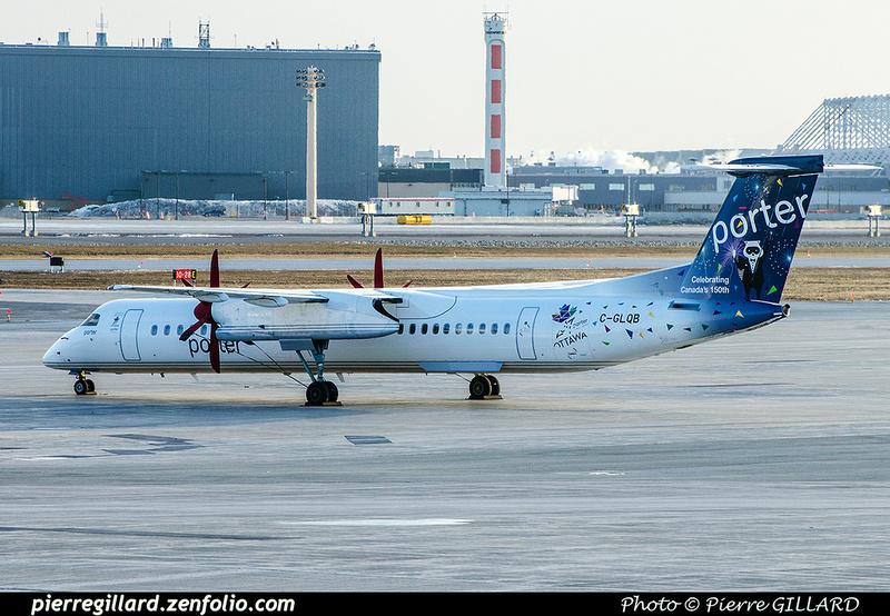 Pierre GILLARD: Porter Airlines &emdash; 2017-702102