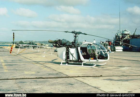 Pierre GILLARD: Aéronefs : Alouette II Astazou &emdash; A42-000364