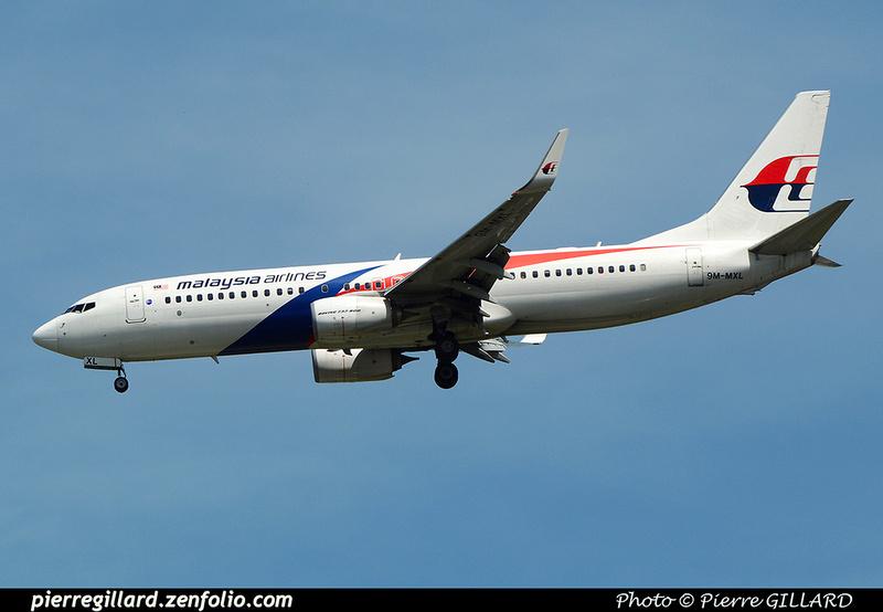 Pierre GILLARD: Malaysia Airlines &emdash; 2016-517259