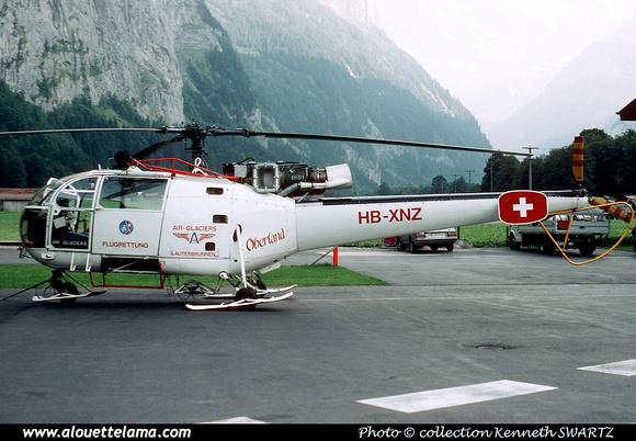 Pierre GILLARD: Air Glaciers - Alouettes & Lamas &emdash; XNZ-005030