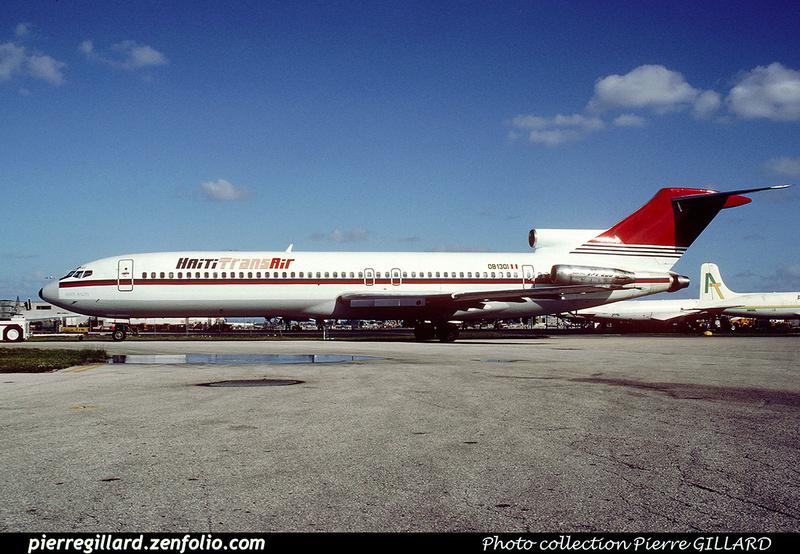 Pierre GILLARD: Haïti Trans Air &emdash; 020266