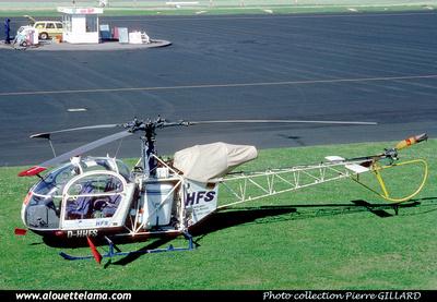 Pierre GILLARD: Germany - HFS - Helicopter Flug Service &emdash; 006689