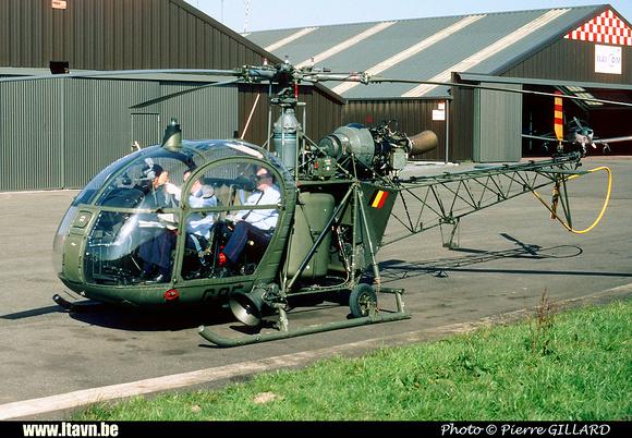 Pierre GILLARD: Aéronefs : Alouette II Astazou &emdash; G95-006583