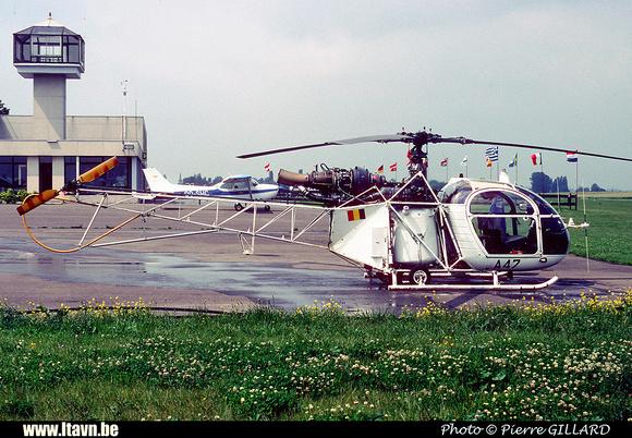 Pierre GILLARD: Aéronefs : Alouette II Astazou &emdash; A47-006467