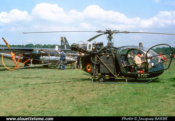 Pierre GILLARD: Aéronefs : Alouette II Artouste &emdash; A06-000014