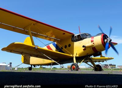 Pierre GILLARD: Antonov An-2 C-FAKA &emdash; 2015-603523