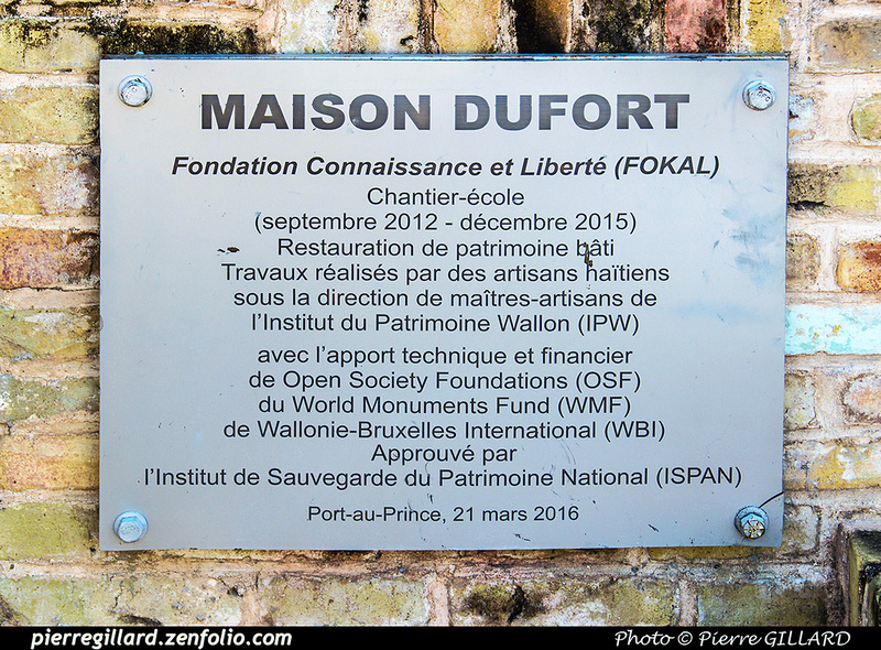 Pierre GILLARD: Port-au-Prince - Maison Dufort (FOKAL) &emdash; 2017-519570