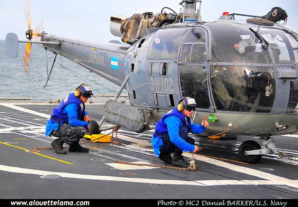 Pierre GILLARD: Argentina - Armada &emdash; 005356