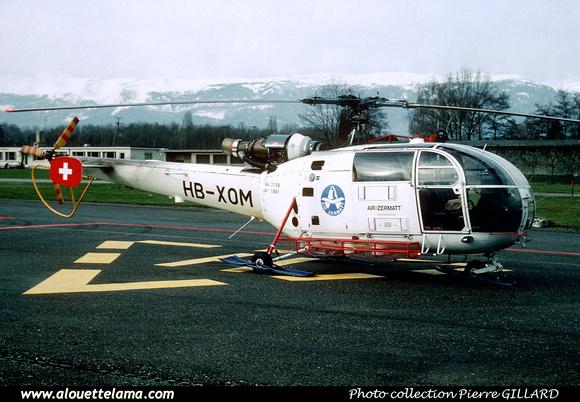 Pierre GILLARD: Air Zermatt - Alouettes & Lamas &emdash; XOM-005147