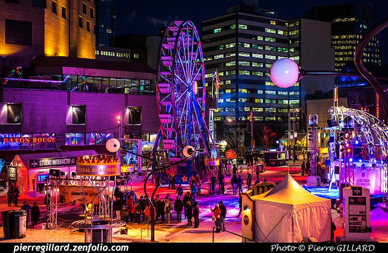 """Pierre GILLARD: Montréal - Festival """"Montréal en lumière"""" &emdash; 2016-607350"""