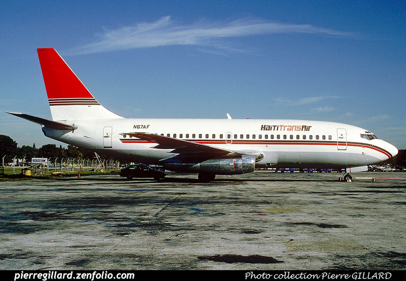 Pierre GILLARD: Haïti Trans Air &emdash; 020264