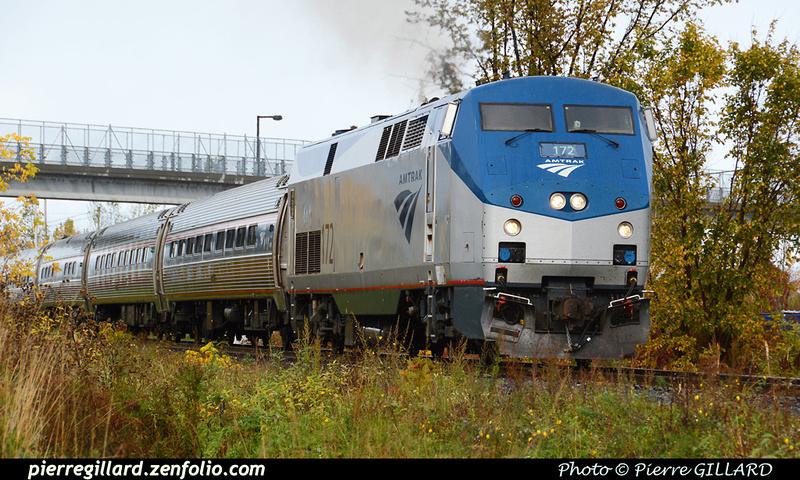 Pierre GILLARD: Etats-Unis d'Amérique : Amtrak - Adirondack &emdash; 2015-509662
