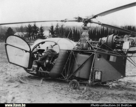Pierre GILLARD: Aéronefs : Alouette II Astazou &emdash; A79-030062
