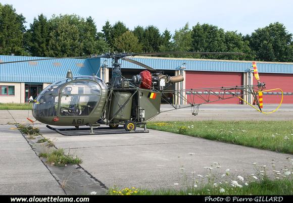Pierre GILLARD: Aéronefs : Alouette II Astazou &emdash; A61-003654