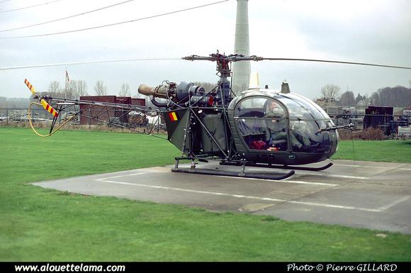 Pierre GILLARD: Aéronefs : Alouette II Astazou &emdash; A22-000551