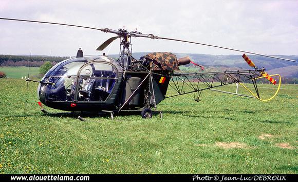 Pierre GILLARD: Aéronefs : Alouette II Astazou &emdash; A62-006528