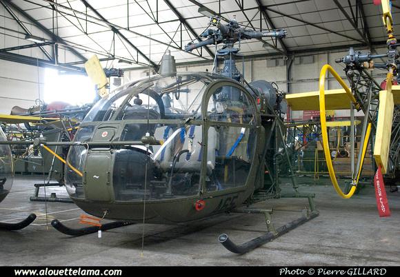 Pierre GILLARD: Aéronefs : Alouette II Astazou &emdash; A65-003674
