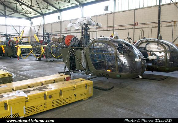 Pierre GILLARD: Aéronefs : Alouette II Astazou &emdash; A59-003669