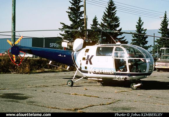 Pierre GILLARD: Canada - Kenting Helicopters &emdash; 005066