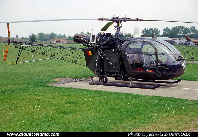 Pierre GILLARD: Aéronefs : Alouette II Artouste &emdash; A32-006320