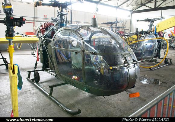 Pierre GILLARD: Aéronefs : Alouette II Astazou &emdash; A79-003676