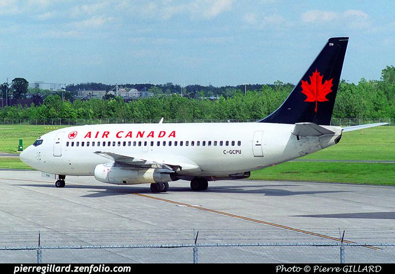 Pierre GILLARD: Air Canada &emdash; 2001-017-5-05