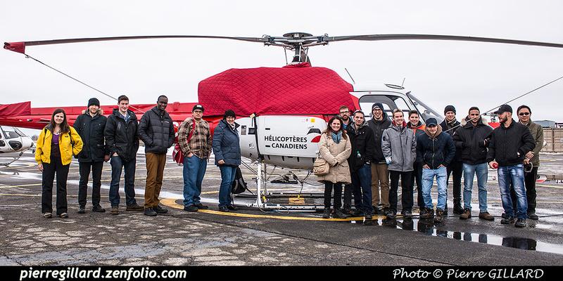 Pierre GILLARD: 2017-01-20 - Visite d'étudiants de l'ÉNA aux Hélicoptères Canadiens &emdash; 2017-610258