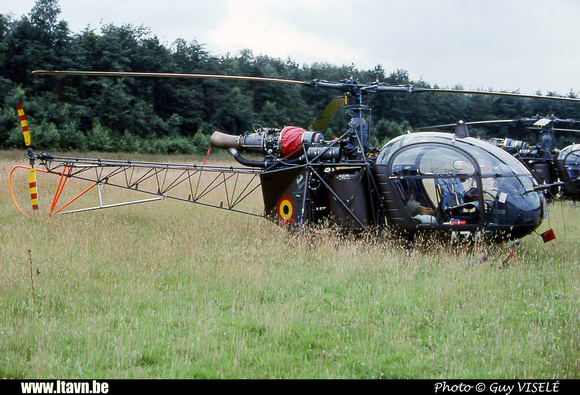Pierre GILLARD: Aéronefs : Alouette II Astazou &emdash; A74-030141
