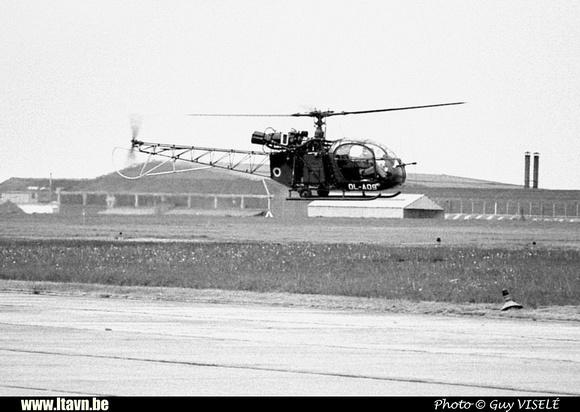 Pierre GILLARD: Aéronefs : Alouette II Artouste &emdash; A09-030177