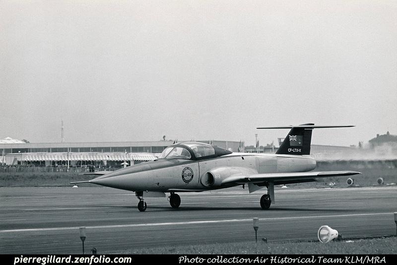 Pierre GILLARD: Canada - Canadair &emdash; 008361