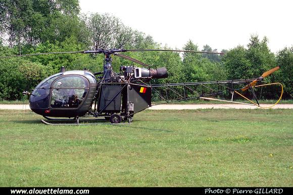 Pierre GILLARD: Aéronefs : Alouette II Artouste &emdash; A15-000395