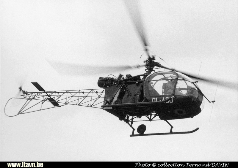 Pierre GILLARD: Aéronefs : Alouette II Artouste &emdash; A30-008392