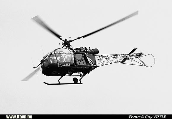Pierre GILLARD: Aéronefs : Alouette II Artouste &emdash; A04-030176