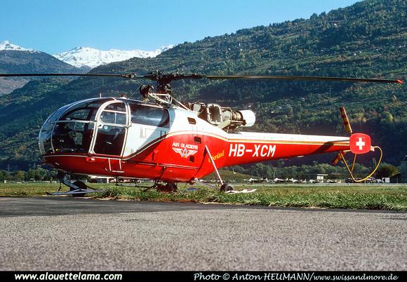 Pierre GILLARD: Air Glaciers - Alouettes & Lamas &emdash; XCM-004989