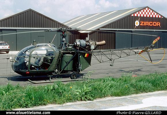 Pierre GILLARD: Aéronefs : Alouette II Astazou &emdash; A40-006433